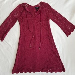 NWT Jessica Simpson Lace A Line Dress Size 2